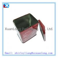 Wholesale house shape tin box for christmas cookie from china suppliers