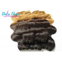 Wholesale Luxury Double Wefted Ombre Remy Hair Extensions Peruvian Body Wave Hair Bundles from china suppliers