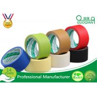 Wholesale Crepe Paper Colored Masking Tape With High Temperature Silicone from china suppliers