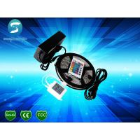Self - Adhesive Battery Powered LED Strips Remote Controlled Architecture Car Decoration for sale