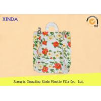 Wholesale High-Density 30*40cm die cut handle strong medium orange bags for snack gift pack from china suppliers