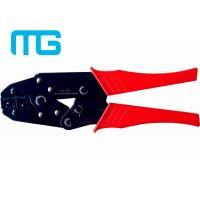 Wholesale 22 - 10 AWG Wire Terminal Crimper , MG - 03C Carbon Steel Electrical Terminal Crimping Tool from china suppliers