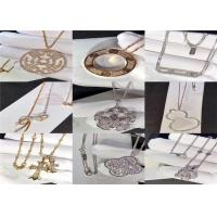 Wholesale Magnificent Custom 18K Gold Jewelry For Wedding / Engagement Ceremony dubai jewelry brands from china suppliers