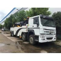 China Manual Transmission Heavy Wrecker Trucks , Commercial Tow Truck High Speed on sale