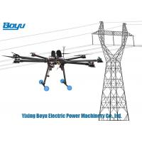 Wholesale 8 Spirals Rotary Wing Unmanned Aerial Vehicle Drone For Erecting Wires In Transmission Lines from china suppliers