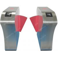 Quality Anti-pinch Anti-Collision Flap Barrier Gate Turnstile Metro Pedestrian for sale