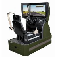 China Interactive driver training simulator , Manual Driving Test Simulator on sale