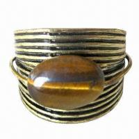 Wholesale Anti Copper Ring with Natural Stone from china suppliers