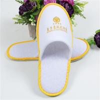 Buy cheap Soft Comfortable Disposable Hotel Slippers Common Type Color Custom For Indoor from wholesalers