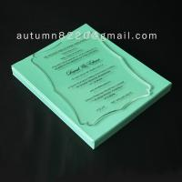 Wholesale B IC (3) romantic clear acrylic invitation from china suppliers