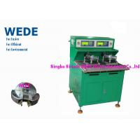 Wholesale Green Ceiling Fan Motor Winding Machine Individual Control 8 - 40mm Core Length from china suppliers