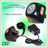 Wholesale Powerful LED Head Torch , Cordless Led Mining Headlamp for Mineral Industry from china suppliers