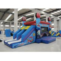Wholesale Hot sale inflatable car house jumping PVC material inflatable jumping house 4 in 1 inflatable bouncy house for sale from china suppliers