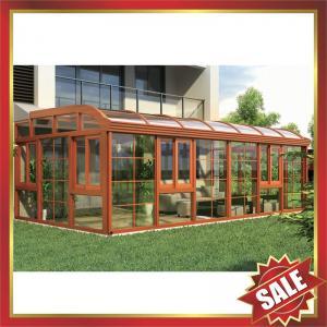 Buy cheap prefab solar Sunroom,garden tempered glass metal aluminium alloy room,aluminium sun house for villa-super durable! from wholesalers