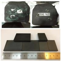 Wholesale Lightweight Bulletproof Vest SiC Silicon carbide B4C Ceramic Insert Using To Protect Aircraft / Vehicle / Naval Vessel from china suppliers