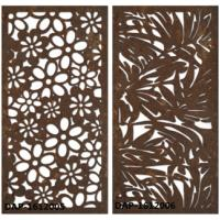 China Rusty Surface Finished Laser Cut Corten Steel For Boiler Plant 3.0mm Thickness on sale