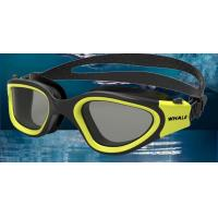 Quality Yellow Wide Large Clear Swimming Goggles Most Comfortable Swim Goggles for sale