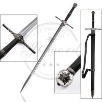 Wholesale Mirror Polished Stainless Steel Blade Two - Handed Sword Of Witcher 3 Geralt from china suppliers