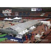 Wholesale Tear Resistant Sport Event Tents With Transaprent Roof Covers With Light And Some Tanles from china suppliers
