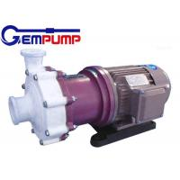 Wholesale ZMD Fluorine plastic self-priming magnetic pump red cast Iron / Industrial Centrifugal Pumps from china suppliers