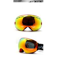 Wholesale Customize Yellow No Fog Ski Goggles Mirror Lens Snowboard Goggles for Men from china suppliers