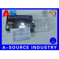 China HGH Injection 10ml Vial Boxes With Plastic Tray Paper Description SGS ISO9001 for sale