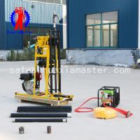 Wholesale Manufacturers sell 50 meters rock sampling drilling rig YQZ type hydraulic portable drilling rig geological exploration from china suppliers