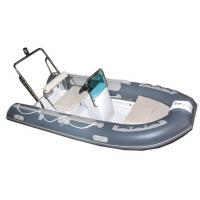 Small Tender Inflatable Sail Boat 3.3 M , High Intensity Inflatable Fishing Raft