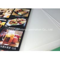 Quality Crack Resistance Pouch Laminating Film A5 , Small Menu Laminating Pouches for sale