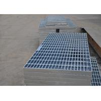 Wholesale 32 X 5mm Steel Walkway Grating , Flat Hot Dipped Galvanised Steel Grating from china suppliers