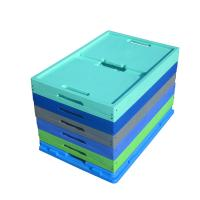 China 30kgs Loading Capacity Virgin PP Collapsible Stacking Containers 600*400 mm Series for sale