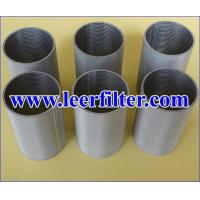 Wholesale Sintered Mesh Filter Tube from china suppliers