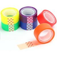 China printed stationery bopp printed packing tape for decoration,Stationery BOPP adhesive Tape Office Tape with SGS Certifica on sale