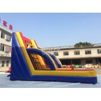Quality Exciting Inflatable Interactive Games , Commercial Grade Inflatable Sticky Wall for sale