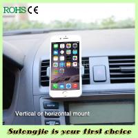 China 360 Degree Rotation Iphone Holder For Car For Air Vent Car Holder on sale