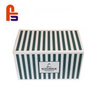 China Simple Pattern  Moving  SmallFor Convenience Store Kraft Paper Packaging Box for sale