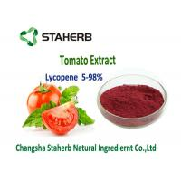 Wholesale Dark Red Powder Natural Tomato Extract 5%-98% Lycopene Water Soluble Anti - Aging from china suppliers