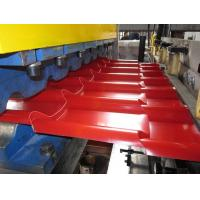 Buy cheap IBR / Corrugated Glazed Tiles 0.8mm Roof Roll Forming Machine from wholesalers