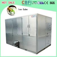 China Auto Operation Ice Cube Machine , Industrial Ice Maker 10,000 Kg Daily Capacity on sale