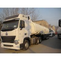 Wholesale SINOTRUK HOWO A7 6x4 Oil Tanker Truck 371 hp with 25000L , EURO III Emission from china suppliers