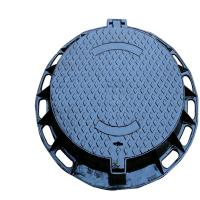 Wholesale EN124 D400 Ductile Iron Manhole Cover / Sand Casting Round Manhole Covers from china suppliers