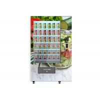 Wholesale Smart Cake Yogurt Salad Vending Machine With Wooden Outlook / Elevator System from china suppliers