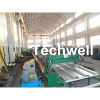 Wholesale Steel Structure Floor Deck Roll Forming Machine for Making Metal Structure Floor Decking Panel from china suppliers