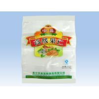 China Dried Nut Pouch Plastic Food Packaging Bags With Hang Hole / Zipper for sale