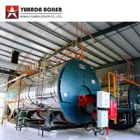 China Horizontal Low Pressure Fire Tube Three Pass 2 Ton Diesel Oil Fired Steam Boiler for sale