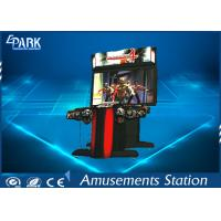 300W Indoor Shooting Game Machines / Zombie Arcade Machine HD Monitor for sale