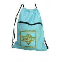 Buy cheap Drawstring 420D nylon fabric back bags with emboidery logo nylon storage bags from wholesalers