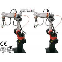 Multi Function Arc Welding Robot , Automated Welding Machine 6 Axis High Precision for sale