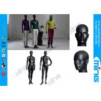 Wholesale FRP Lifelike Full Body Female Mannequin , Glossy Black Mannequin Head from china suppliers