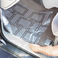 Wholesale HNHN Transparent LLDPE Auto Carpet Protection Film Removable from china suppliers